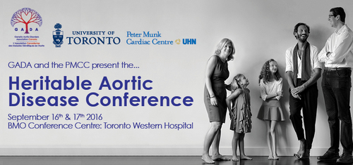 Heritable Aortic Disease Conference being held Sept. 16 & 17, 2016